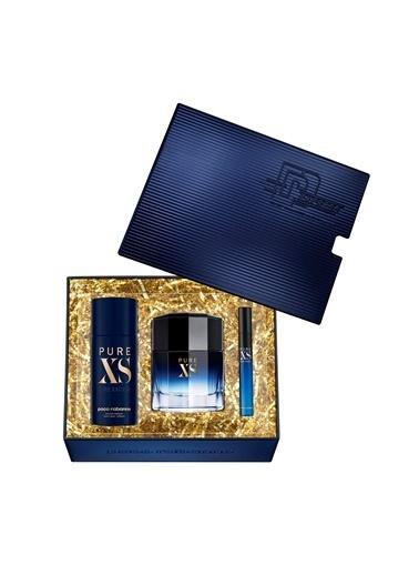 Paco Rabanne Paco Rabanne Pure XS EDT 100 ml Erkek Parfüm Seti Renksiz